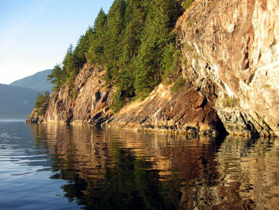 Anvil Island Howe Sound. Photo Credit: Sewell's Marina