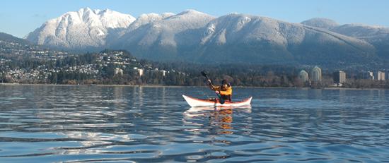 Sea kayaking. Photo Credit: Ecomarine Paddlesport Centres