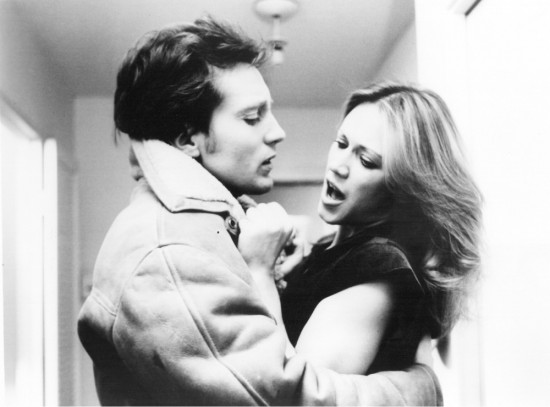 A scene from 1977's Rabid, starring Frank Moore and Marilyn Chambers and directed by David Cronenberg.