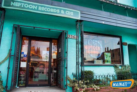 Neptoon Records. Photo Credit: Main411.ca