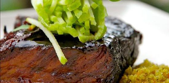Soya Glazed Beef Short Rib. Photo Credit: Market by Jean-Georges