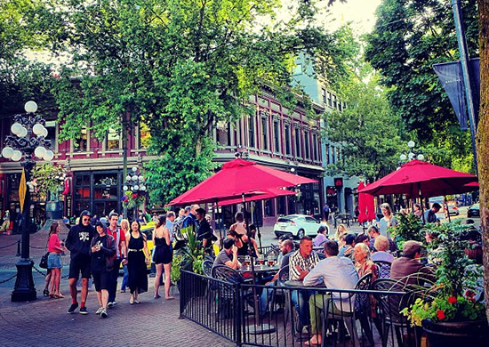 Gastown on a summer afternoon. Photo: HappyBarbers | Flickr