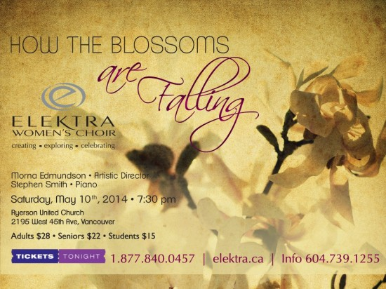 Elektra Women's Choir - How The Blossoms Are Falling | Things To Do In Vancouver This Weekend