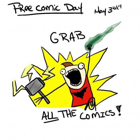 Free Comic Book Day | Things To Do In Vancouver This Weekend
