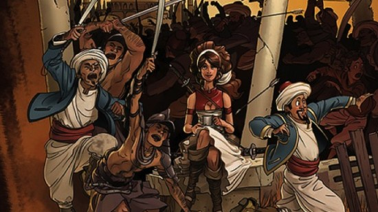 Delilah Dirk by Tony Cliff art