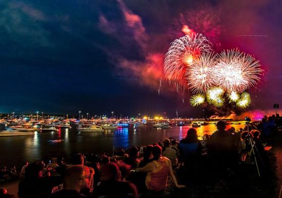 Vancouver fireworks festival 2014
