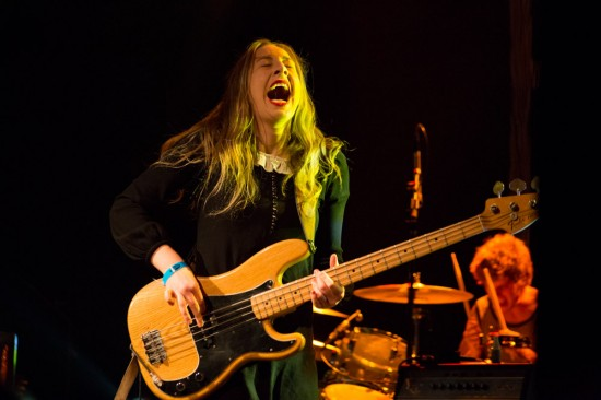 Haim at the Commodore Ballroom, Vancouver, Oct. 24 2013. Kirk Chantraine photo.