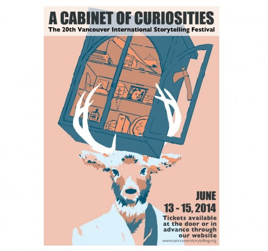 20th Vancouver International Storytelling Festival: A cabinet of Curiosities;   Things To Do In Vancouver This Weekend