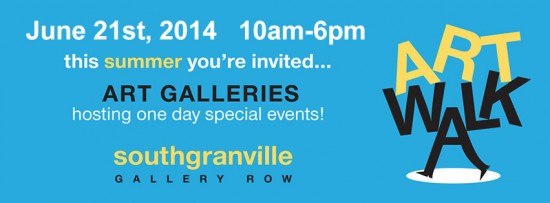 3rd Annual ArtWalk South Granville | Things To Do In Vancouver This Weekend