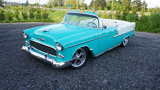 1955 Chevrolet Bel Air Convertible | Photo: 604now.com