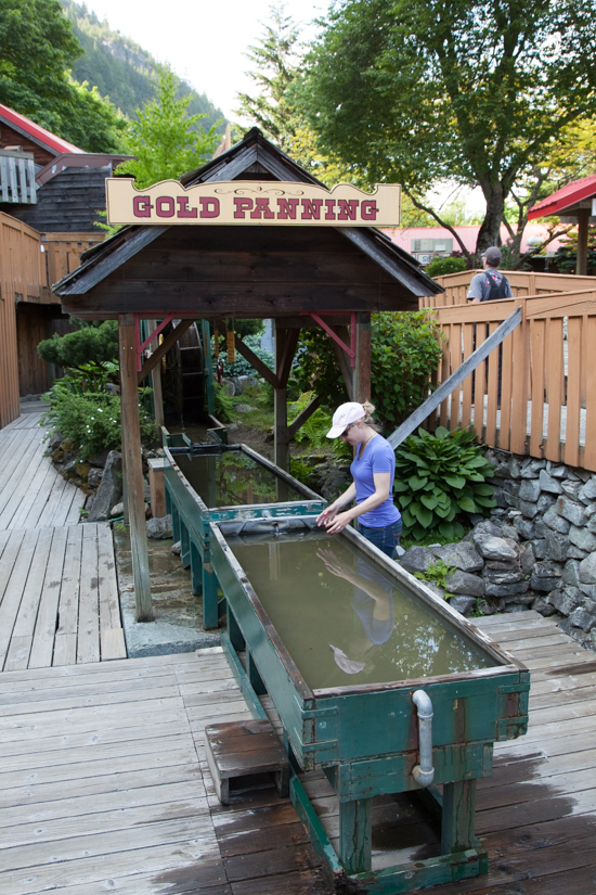 For $5, you can sift through actual gravel from nearby Hills Bar, home to the biggest claim ever staked in the Fraser Canyon during the great Fraser River Gold Rush in the mid 1860s.