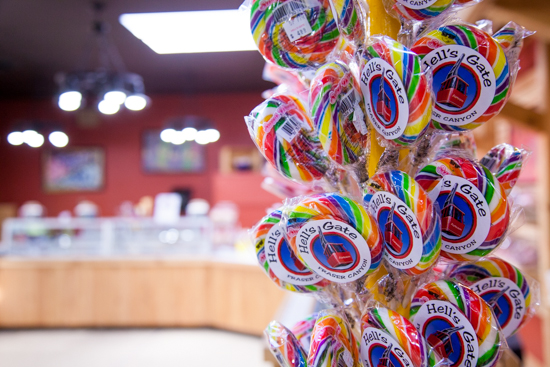 Hell's Gate is also home to a motherlode of sugar - from lollipops to ice cream and homemade fudge.