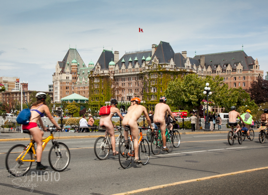During the summer, Victoria is bustling with events and activities (like the World Naked Bike Ride in June).