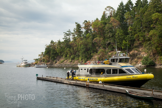 The Prince of Whales boat picks up guests around 5 p.m. from a secluded cove deep inside Butchart Gardens.