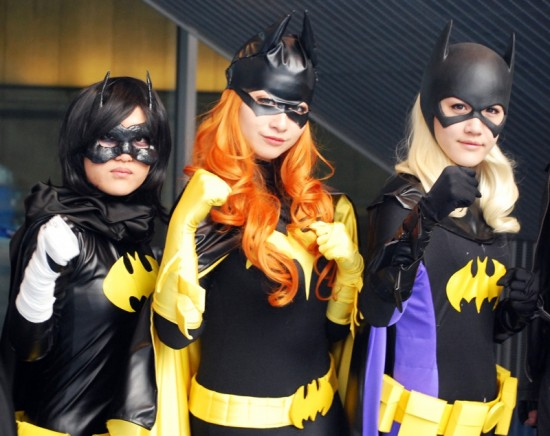 Batgirls at Vancouver Fan Expo April