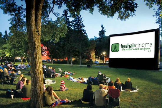 free outdoor movies vancouver 2014