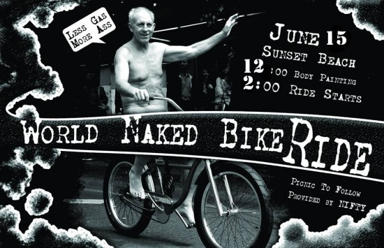 Vancouver naked bike ride 2014