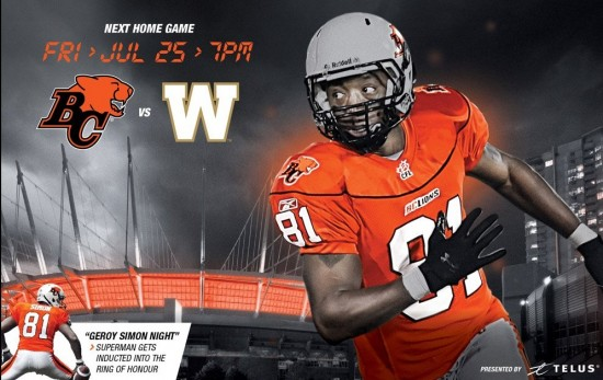 BC Lions vs Winnipeg Blue Bombers | Things To Do In Vancouver This Weekend