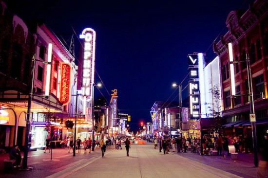 Granville Street | Things To Do In Vancouver This Weekend