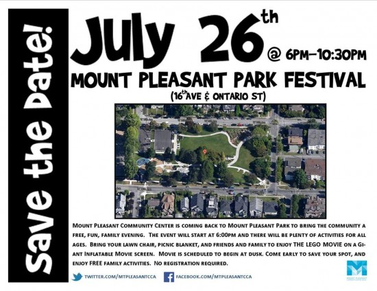 Mount Pleasant Park Festival | Things To Do In Vancouver This Weekend