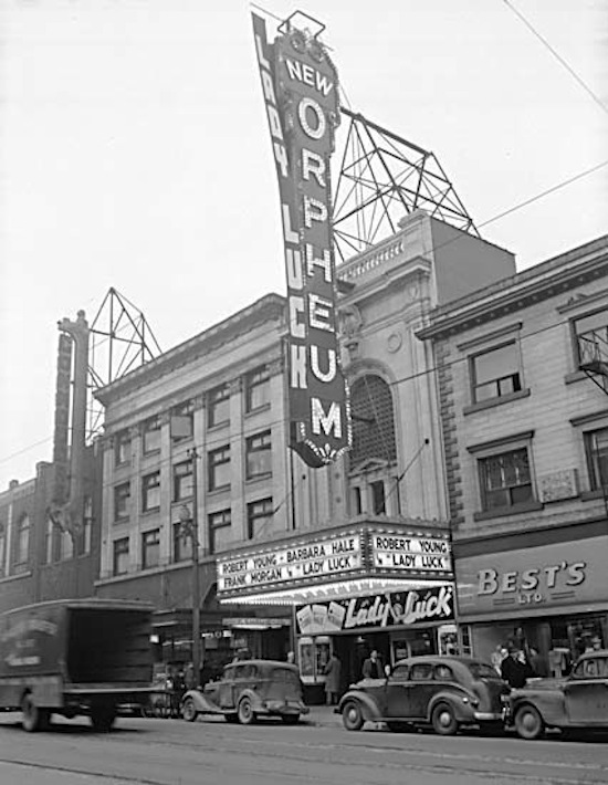 The Orpheum in 1946.