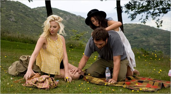 A scene from Vicky Cristina Barcelona, Woody Allen's 2008 sort-of comedy.