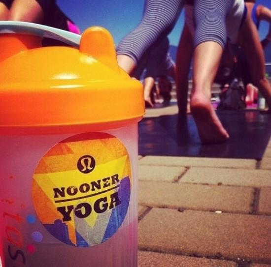 Nooner Yoga Free Vancouver