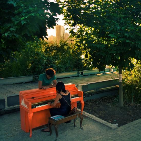 Vancouver public piano project