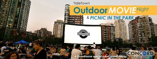 10th Annual Yaletown Outdoor Movie & Picnic In The Park | Things To Do In Vancouver This Weekend