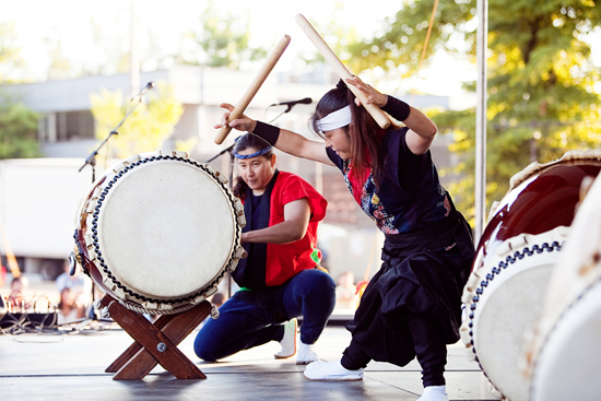 Photo from the Powell Street Festival Society website