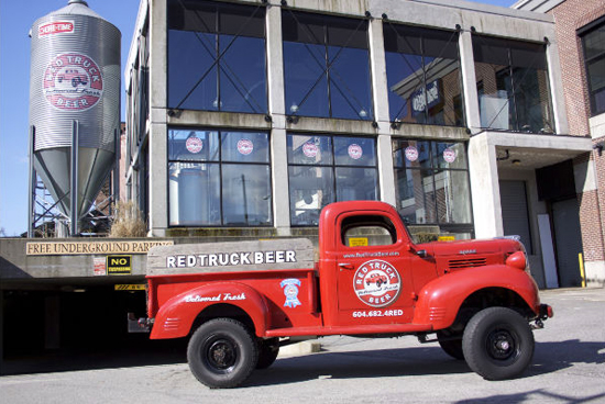 Photo from the Red Truck Brewery website