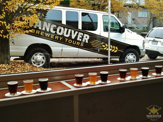 Photos from the Vancouver Breweries Tours website