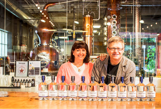 Photo from the Long Table Distillery website