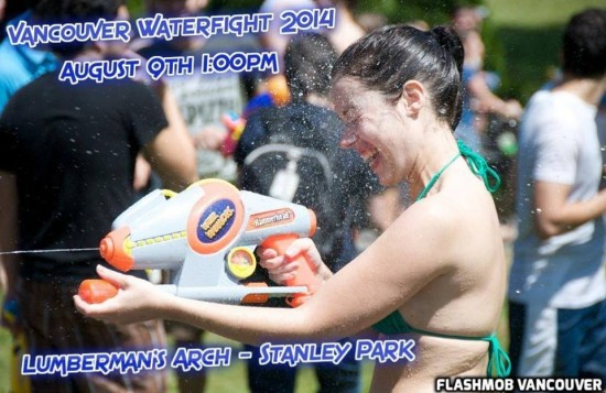 8th Annual Vancouver Water Fight | Things To Do In Vancouver This Weekend