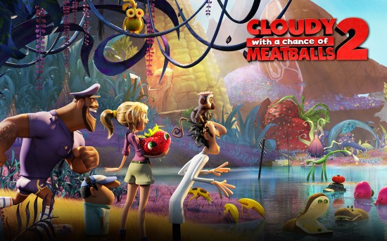 City Centre Outdoor Movie Night - Cloudy With A Chance Of Meatballs 2 | Things To Do In Vancouver This Weekend