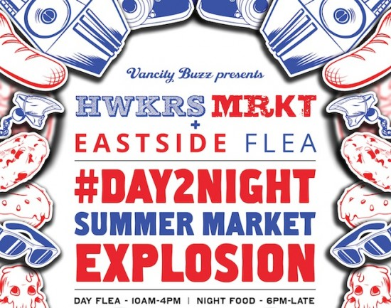 Hawkers Market & Eastside Flea - Day 2 Night Market | Things To Do In Vancouver This Weekend