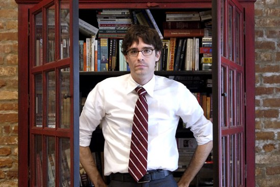 Joshua Ferris, author of To Rise Again at a Decent Hour, is one of this year's guests at the Vancouver Writers' Festival.