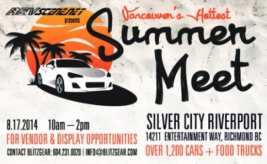 Revscene Summer Meet | Things To Do In Vancouver This Weekend