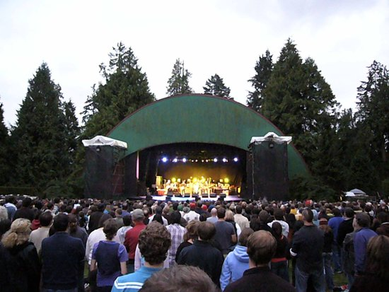Malkin Bowl: a popular summer concert destination || Photo CrediT; Flickr/Creative Commons Keep it Surreal