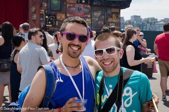 Food bloggers (aka The Food Gays) Jeremy Inglett and Adrian Harris