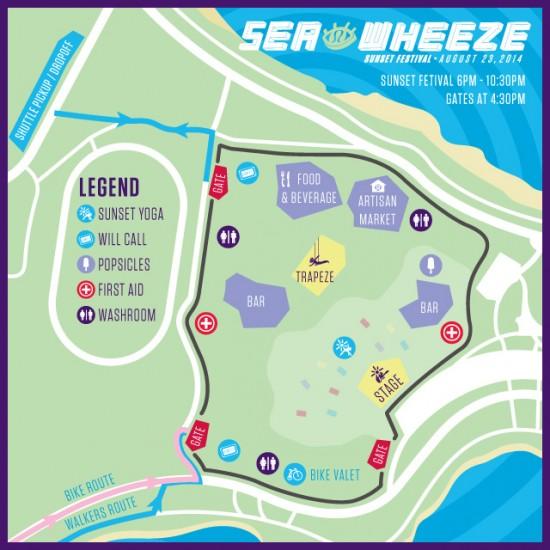 Seawheeze Sunset Festival Vancouver 2014