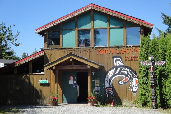 Khot-la-Cha Gallery & Gift Shop is located in North Vancouver. || Photo Credit:   Flickr/Christopher Paulin