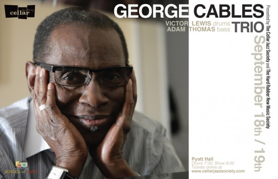 Cellar Jazz Society From New York City - George Cables Trio | Things To Do In Vancouver This Weekend