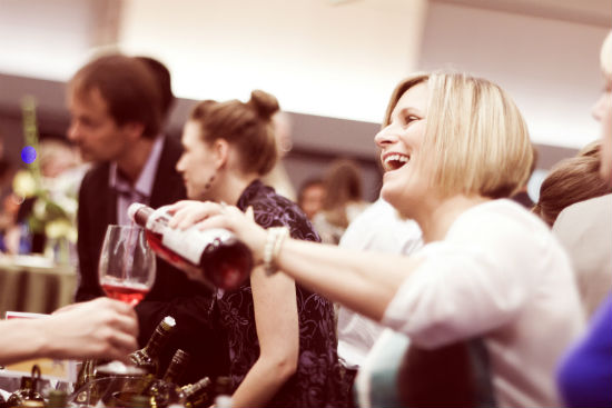 The wine will be flowing at the ChefMeetsBCGrape signature tasting. Sarah England photo.
