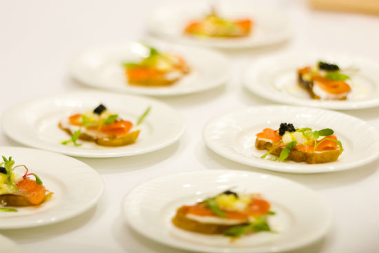 Harvest-inspired fare will accompany the wines at the signature ChefMeetsBCGrape tasting. Sarah England photo.