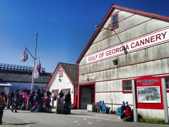 The Gulf of Georgia Cannery delves into the area's history. Image from the Cannery's Facebook page.