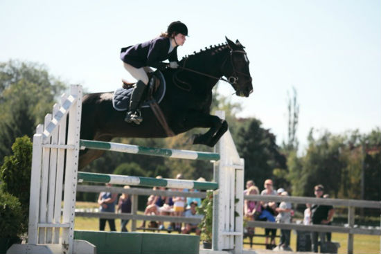 You can get close to the horse-jumping action at Southlands Country Fair. Photo by Noriko Tidball.