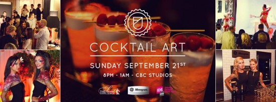 Monogram Dinner By Design: Cocktail Art | Things To Do In Vancouver This Weekend
