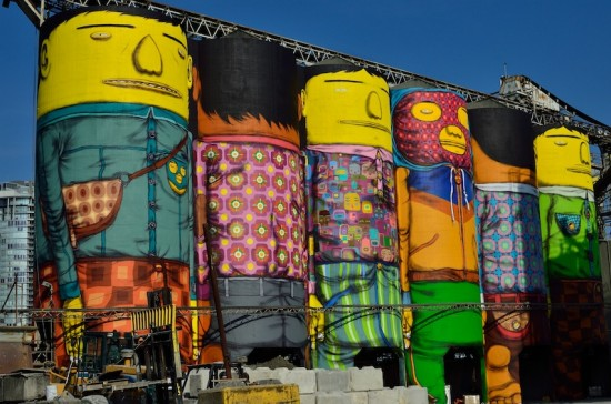 OSGEMEOS at Granville Island Public Celebration & Unveiling| Things To Do In Vancouver This Weekend