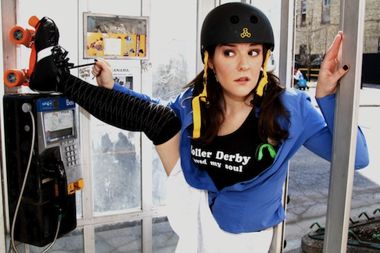 Roller Derby Saved My Soul is one of this year's Picks of the Fringe.